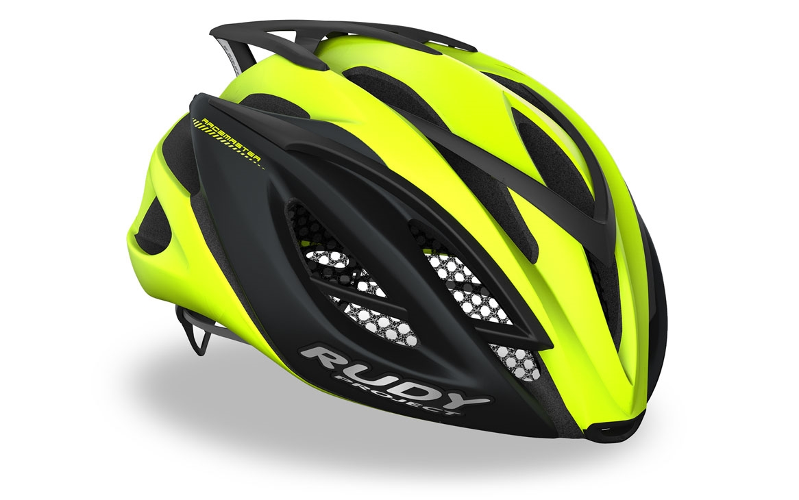 Helmets Rudy Project Uv Protection Optical Yellow Fluor Racemaster