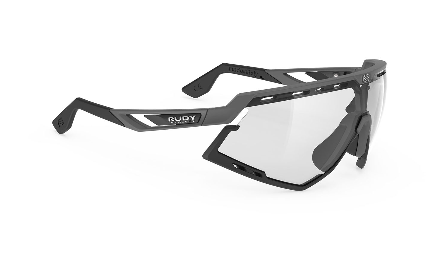 Glasses And Sports Helmets Rudy Project Precise Denzel M Hitam 42 Defender